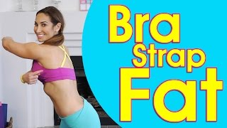 getlinkyoutube.com-Bra Strap Trap: Back Fat Attack Exercises | Natalie Jill