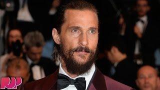 Matthew McConaughey Booed At Cannes Film Festival