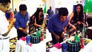 getlinkyoutube.com-Surya 40th Birthday Celebration | Jyothika,Sivakumar, Karthick