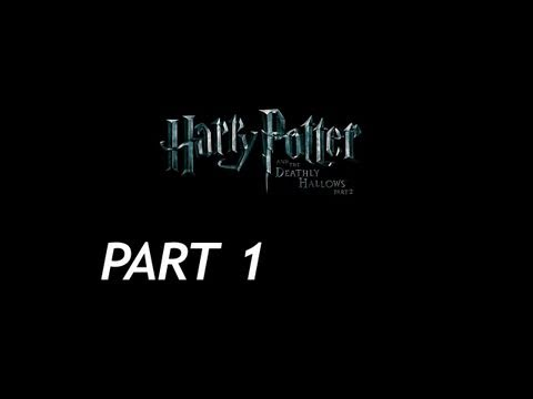 Harry Potter and the Deathly Hallows Part 2 Walkthrough - Part 1 - Chapter 1 - Gringotts - PT 1/2