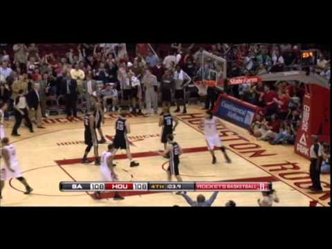 Courtney Lee, Kyle Lowry hit clutch baskets to force overtime vs. Spurs 4/1/2011