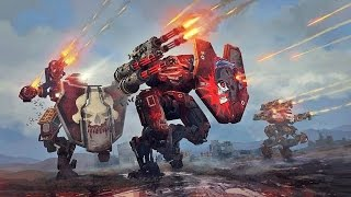 War Robots - Purchasing New Galahad Skin and Squad Gameplay