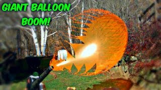 getlinkyoutube.com-Giant Balloons Pop in Slow Motion