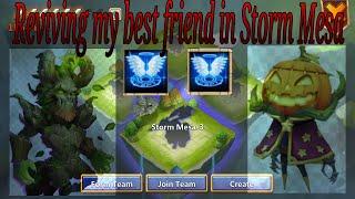 getlinkyoutube.com-Castle Clash Treantaur Gameplay in action - Storm Mesa Revive