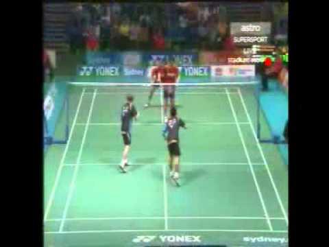 Men's Double Final In Yonex Australian Badminton Open Sydney 2012