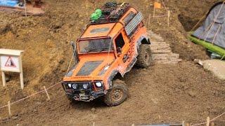getlinkyoutube.com-RC Land Rover Scale & Crawler Parcours - Erlebniswelt Modellbau Kassel