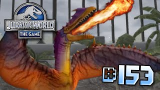 getlinkyoutube.com-The DRAGON! || Jurassic World - The Game - Ep 153 HD