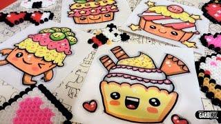 getlinkyoutube.com-How To Draw Kawaii Cupcakes by Garbi KW
