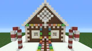 getlinkyoutube.com-Minecraft Tutorial: How To Make A Christmas Themed House