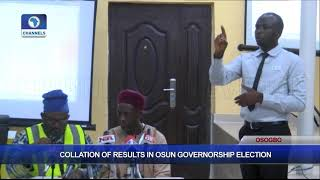 Collation Of Results In Osun Governorship Election Pt.9 |Osun Decides|