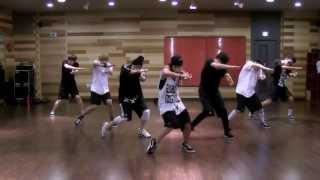 getlinkyoutube.com-BTS 'We Are Bulletproof Pt 2' mirrored Dance Practice