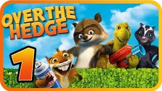 getlinkyoutube.com-Over The Hedge Walkthrough Part 1 (PS2, GCN, XBOX, PC) Mission 1 & 2 [100% Objectives]