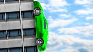 getlinkyoutube.com-DRIVING UP BUILDINGS!! (GTA 5 Funny Moments)
