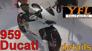 getlinkyoutube.com-Ducati Panigale 959 Panigale walk around & overview in California