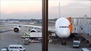 getlinkyoutube.com-Flying Thai Airways Airbus A380 fm Bangkok to Tokyo...