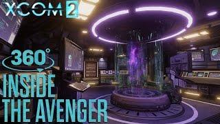 """XCOM 2 - """"Inside the Avenger"""" 360°-os Videó"""