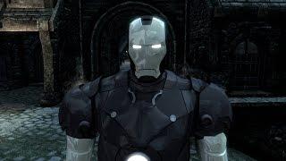 getlinkyoutube.com-TES V Skyrim:Мод на костюм Железного человека + небольшое дополнение