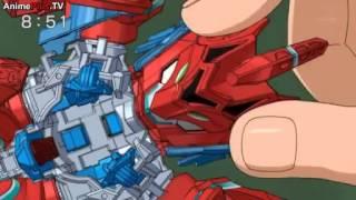 getlinkyoutube.com-Cross Fight B Daman eS Episode 1 - I Am Burning! Drive=Garuburn!