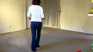 getlinkyoutube.com-JAMBALAYA Line Dance