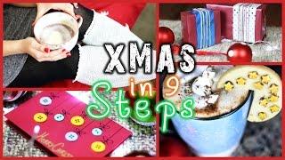 getlinkyoutube.com-CHRISTMAS-READY IN 9 STEPS! - DIY's, Deko & Hacks