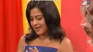 getlinkyoutube.com-Actress Rekha Thapa - Sexy talk with Ujju Darling