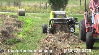 getlinkyoutube.com-Tractor Tools Direct - CAEB Mini Round Baler Demonstration