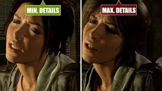 getlinkyoutube.com-Rise of the Tomb Raider PC - Min. vs. Med vs. Max - Graphics comparison / Grafikvergleich