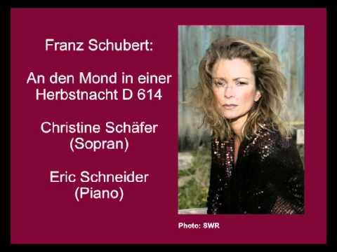 Schubert: An den Mond in einer Herbstnacht D 614 - Christine Schäfer