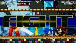 getlinkyoutube.com-Mugen:Team Sonic vs Team Street Fighter Colab
