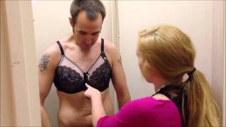 getlinkyoutube.com-Eric the Intern Gets Fitted for a Bra at Dillard's