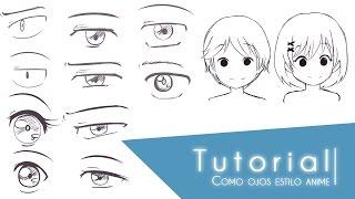 getlinkyoutube.com-Tutorial ۰•●Como dibujar distintos tipos de ojos estilo anime●•۰