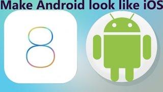 getlinkyoutube.com-How to make Android look like iPhone [iOS 8] [2015]