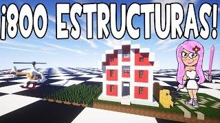 getlinkyoutube.com-MOD DE ESTRUCTURAS Y CASAS INSTANTÁNEAS MINECRAFT 1.9/1.8/1.7.10 | MOD INSTANT STRUCTURES