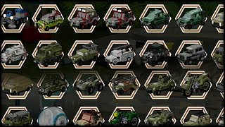getlinkyoutube.com-LEGO Jurassic World - All Vehicles Unlocked!