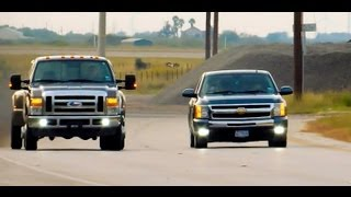 getlinkyoutube.com-09' Ford F-350 Dually Vs Cammed 2011 Silverado (Before And After Mods)
