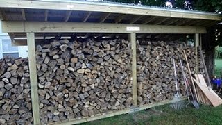 getlinkyoutube.com-How to Build a Firewood Shed By Yourself