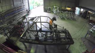 Aussie Race Car Chassis Complete Assembly