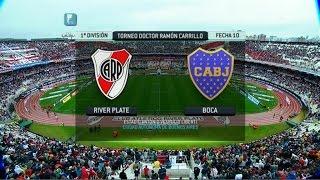 getlinkyoutube.com-Fútbol en vivo. River - Boca. Fecha 10. Torneo Primera División 2014. FPT.