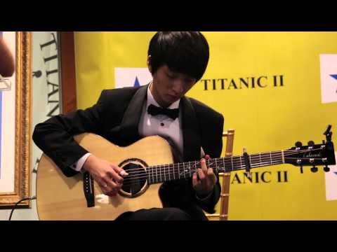 Sungha Jung Plays &quot;My Heart Will Go On&quot; for the Titanic II