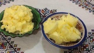 getlinkyoutube.com-طريقة تحضيرالسمن الحرالبلدي المالح / المدوب بشرح مفصل من المطبخ المغربي مع ربيعة