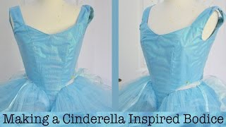 getlinkyoutube.com-Making a Cinderella Inspired Dress : Part One