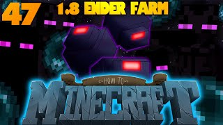 How To Minecraft   #47   Minecraft Enderman Farm 1.8   #RIPFatAlbert w/ Nooch (How To Minecraft SMP)
