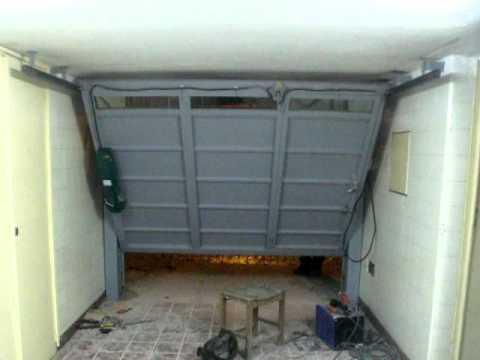 Portón Levadizo automático