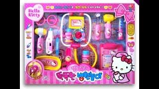 KITTY醫生玩具組開箱