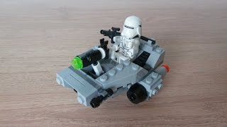 getlinkyoutube.com-LEGO 75126 LEGO STAR WARS 2016 First Order Snowspeeder Microfighters Series 3