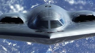 getlinkyoutube.com-The Most Expensive B-2 Spirit Stealth Strategic Bomber in Action