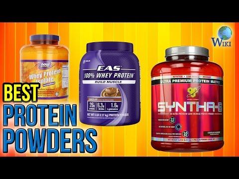 10 Best Protein Powders 2017