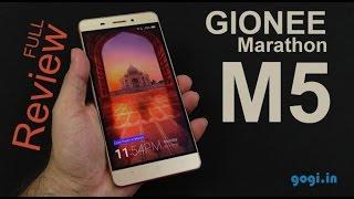 getlinkyoutube.com-Gionee Marathon M5 full review