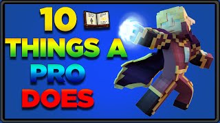 10 Things A Pro Does In Pixel Gun 3D