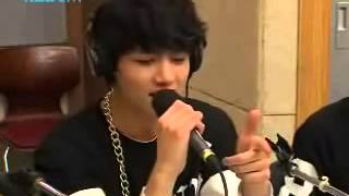 getlinkyoutube.com-BTS I Need A Girl (Taeyang) Cover Live - Kiss The Radio